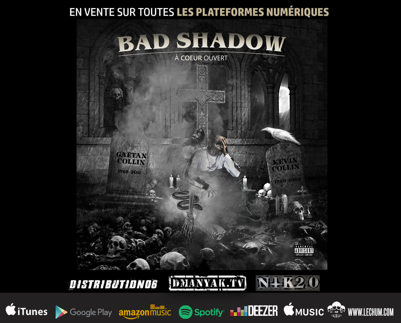 Bad Shadow - A Coeur ouvert